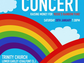 Trinity Concert Band Performs in Aid of Rosie's Rainbow Fund 28 January 2017