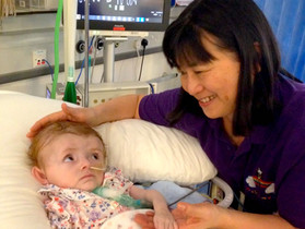 Vote for Funding for Rosie's Rainbow Fund's Pediatric Massage Therapy!