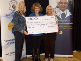 RRF Receives £12,500 Grant from the MCKS Charitable Foundation UK