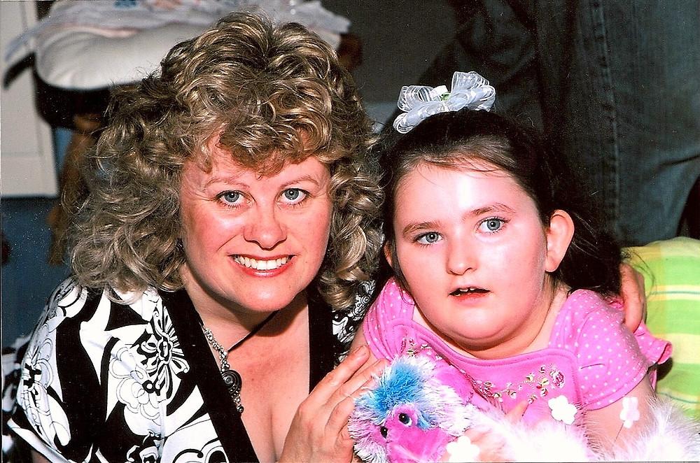 RRF Trustee Helene Czornyj & daughter Ella.