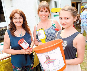Fundraise volunteer Rosie's Rainbow Fund
