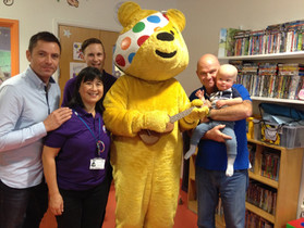 Rosie's Rainbow Fund Meets Pudsey!