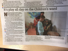 Rosie's Rainbow Fund Featured in The Wokingham Paper