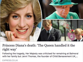 RRF's Jenni Thomas, OBE on Grief Support & Princes William and Harry