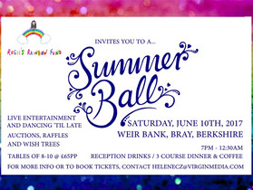 Rosie's Rainbow Fund Summer Ball Fundraiser 10th June 2017