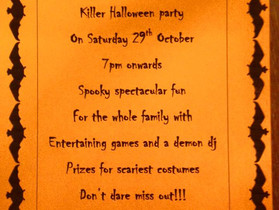 Toby Carvery Newbury's Halloween Party for Rosie's Rainbow Fund!