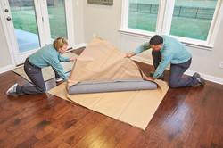 Bekins rug wrap