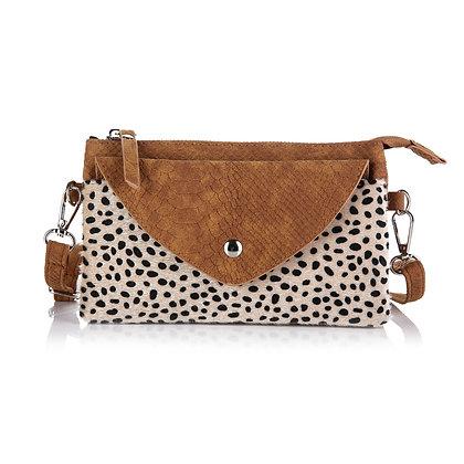 Tasje cheetah brown