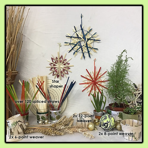 Straw Star Craft Kit