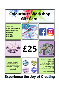 Creative Workshops Durham Gift Card