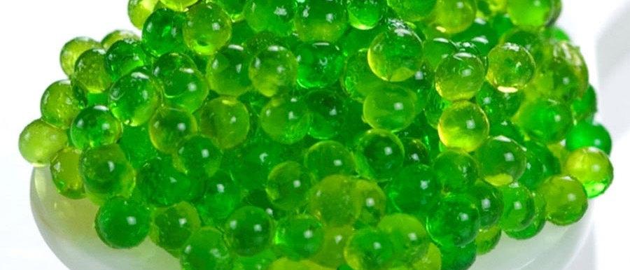 Green(Wasabi) Tobikko/Tobico(Net weight 500Gms)