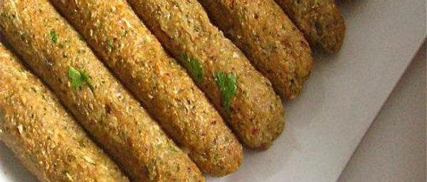 Mutton seekh kebab(Ready to cook)(Net weight 1kg)