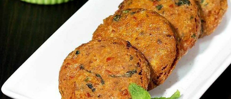 Soya Shami kebab(Ready to cook)(Net weight 1kg)