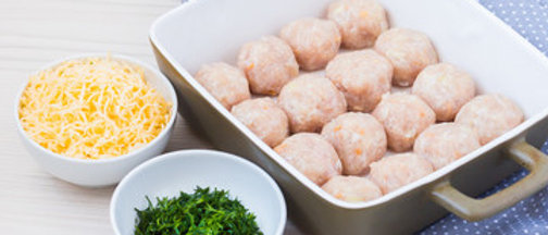 Chicken cheese balls(Ready to cook) (Net weight 1kg)
