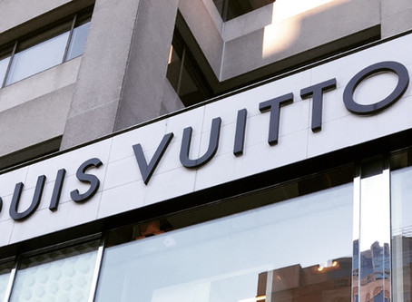 My First Time in a Louis Vuitton Store