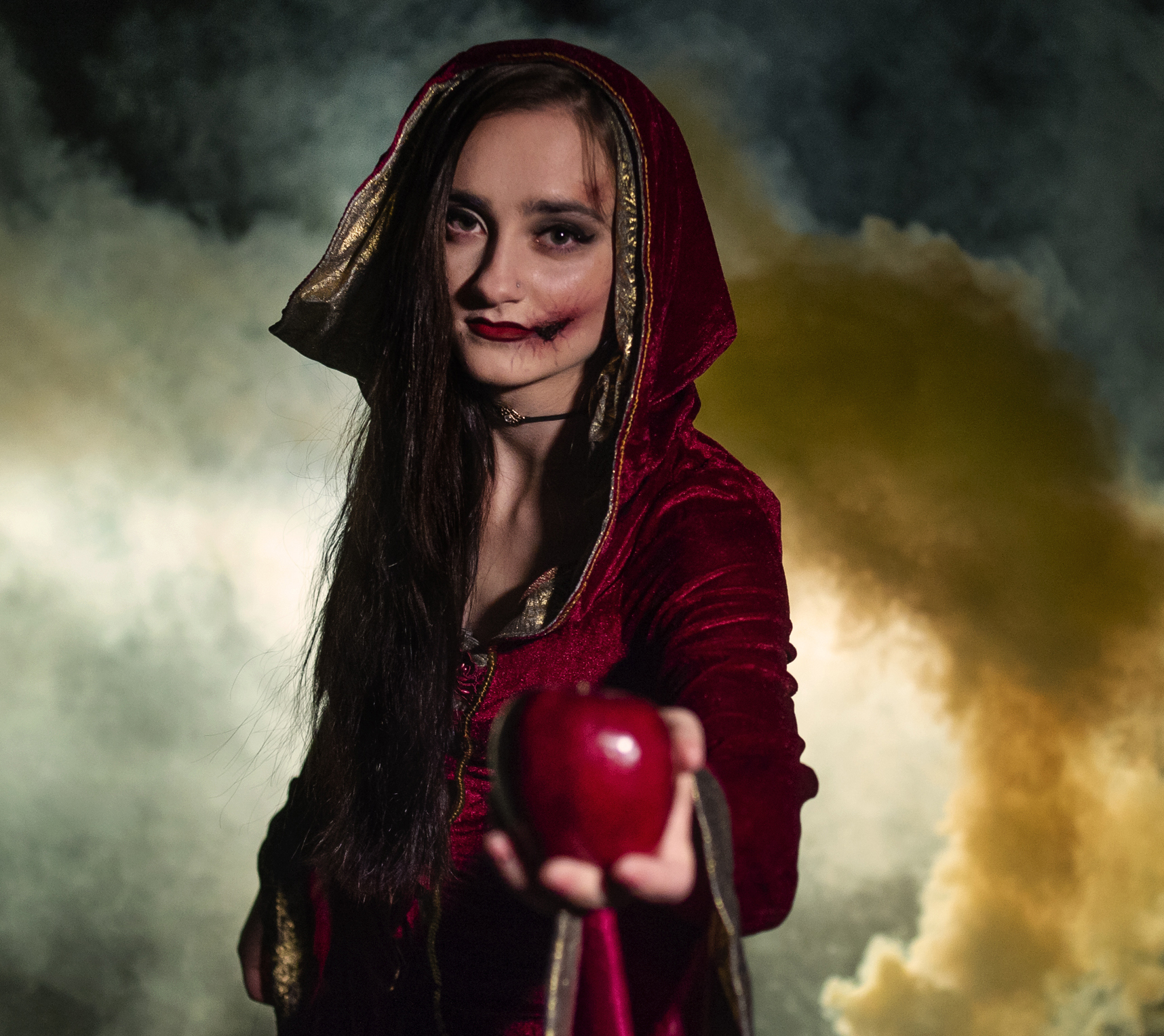 Erin as Evil Witch 2018