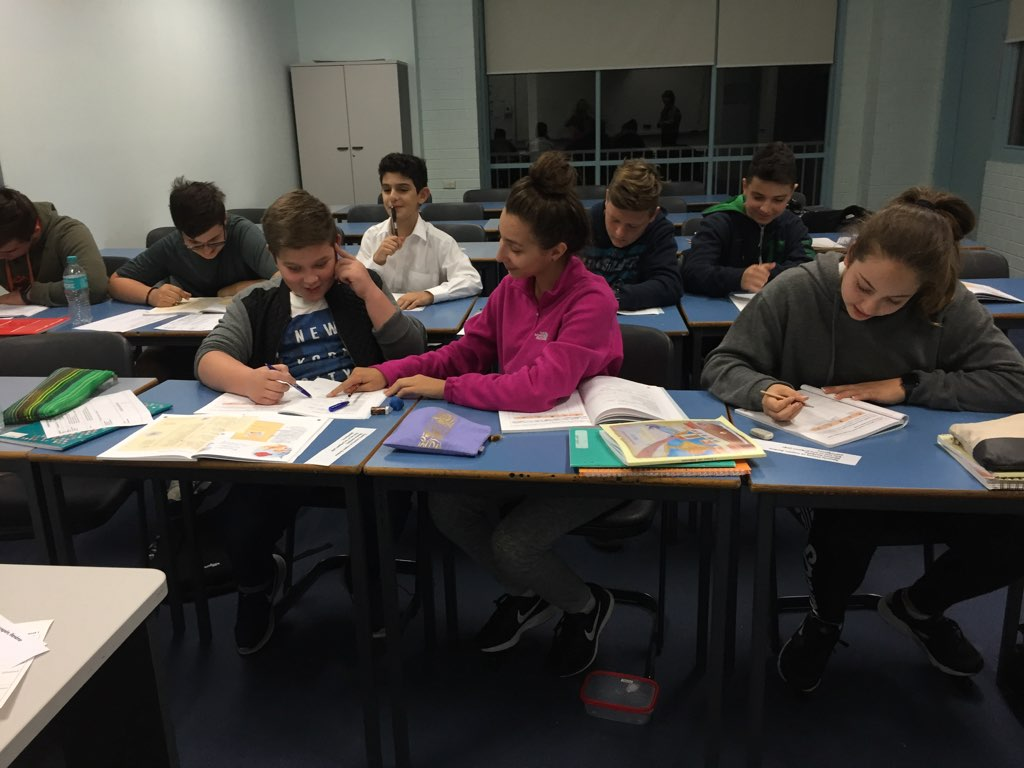 Grade 7-9 Classroom