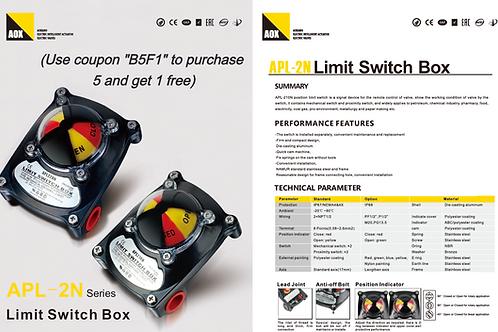 APL-2N Series Limit Switch Box (Valve Position Indicator)