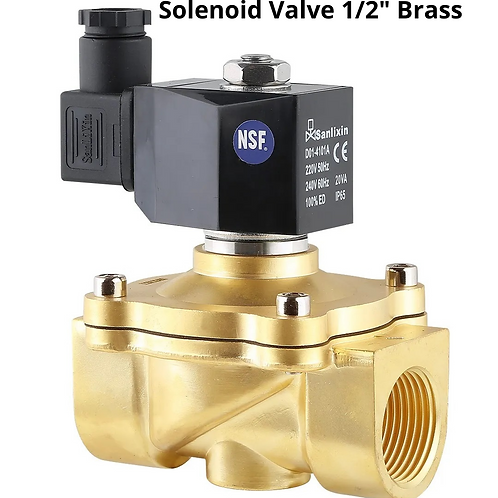 2/2way large diameter direct acting solenoid valve (Normally Closed)