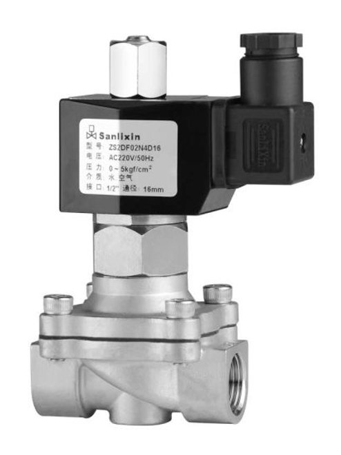 ZS 2/2-way Direct Acting Normally Open Solenoid Valve