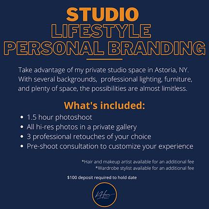 STUDIO Lifestyle Personal Branding Websi
