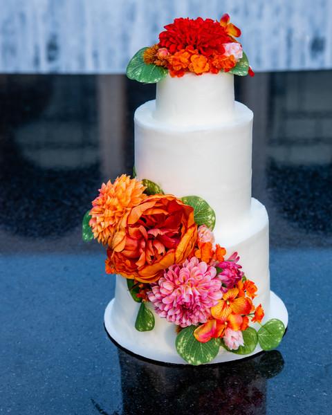 Wedding cake by The Singing Baker