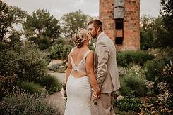 Wedding Photo at Botanic Gardens Chatfield Littleton, CO