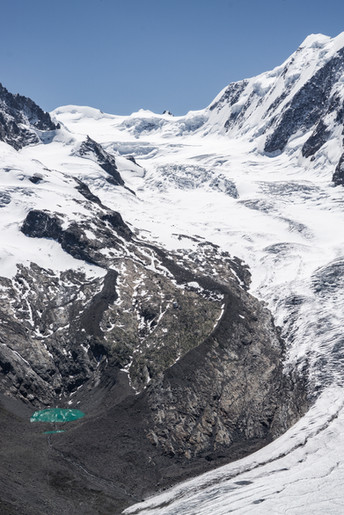 Gornergletscher, Schweiz