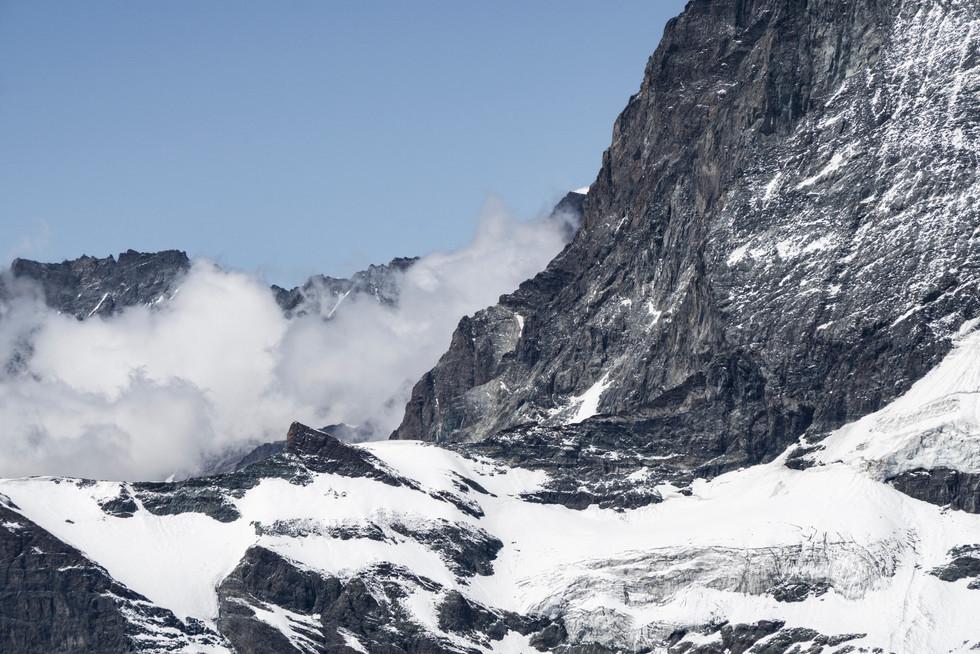 Detail Matterhorn, Schweiz