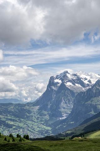 Wetterhorn, Grindelwald, Schweiz