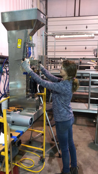 Hand Bottling a new addition...Magnums! 2017 Anderson Valley Pinot Noir