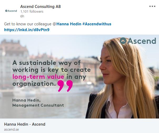 Svenska managementkonsultingbolaget som är bäst på att attrahera och utveckla supertalanger!
