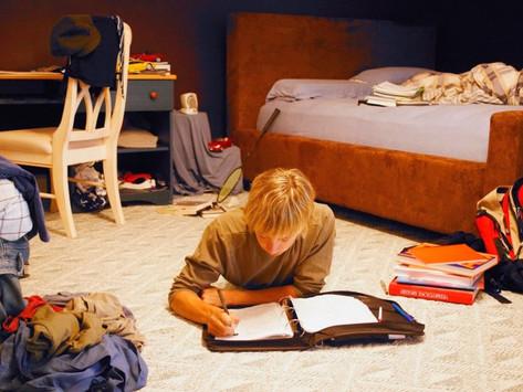 Хаос в комнате подростка
