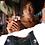 Thumbnail: H114, Traditional Leather Soft Handbag (Blk/Tan)
