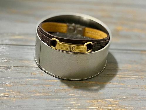 Leather Casual Bracelet (Medium)