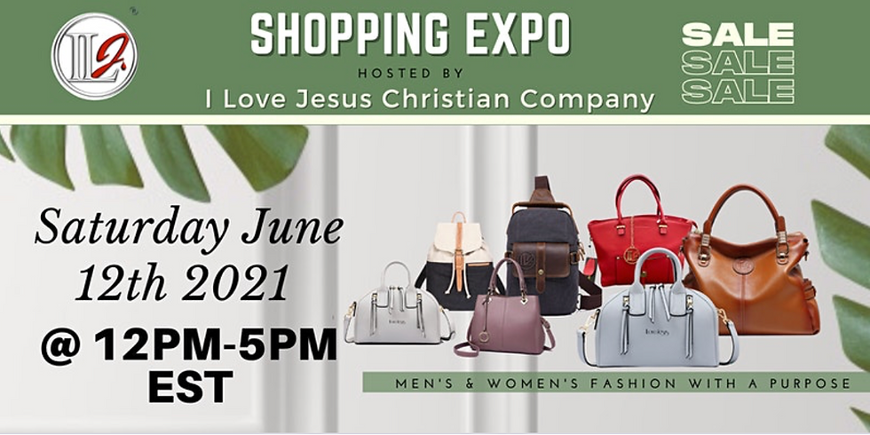 Shopping Expo, hosted by ILJ, Christian Products & Apparel