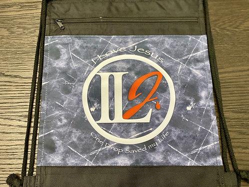 H128, Nylon Drawstring Backpack