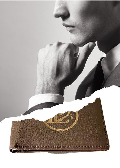 W103, Men's Monogram Leather Wallet