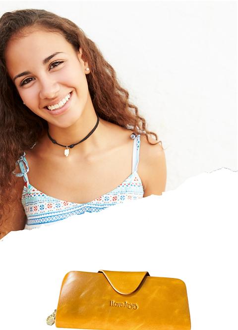 W102, Women's Leather Wallet