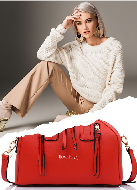 H116, ILJ Compact Tote (Red)