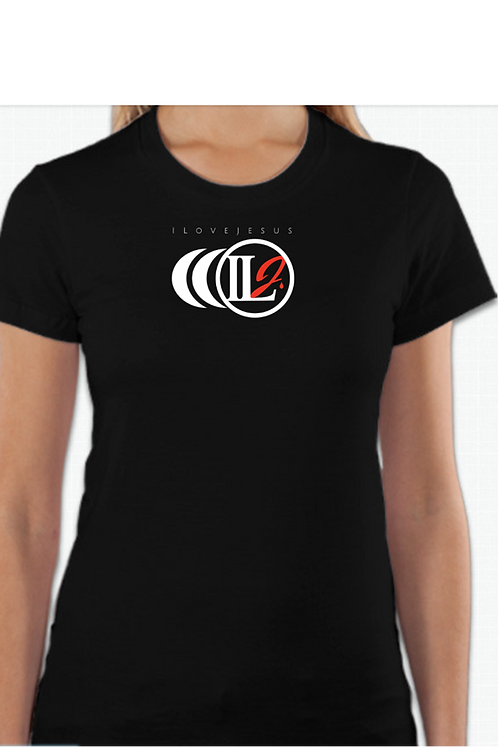 S101, ILJ Women's Slim Cut Cotton T-Shirt (Wht)