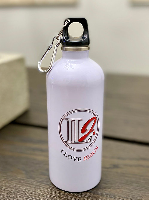 A112, ILJ 20oz Sports Water Bottle (White)