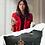 Thumbnail: H100, 100% Italian Leather Handbag (Black)