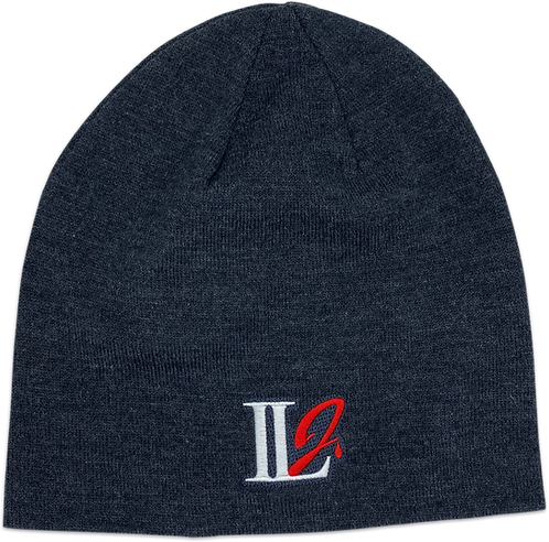 A105, ILJ Men's Slouch Beanie (Charcoal Grey)