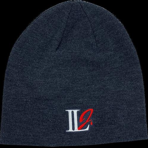 A105, ILJ Men's Slouch Beanie (Charcoal Grey)