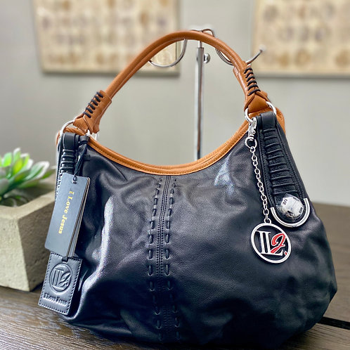 Traditional Leather Soft Handbag