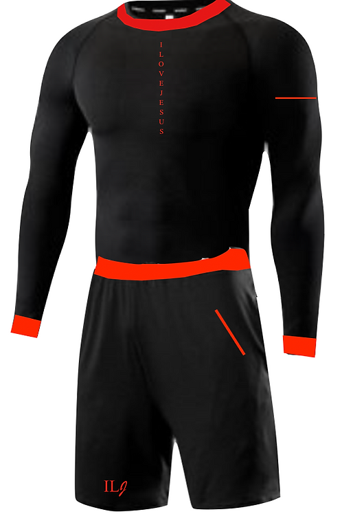 ILJ Signature Athletic (Men) Blk/Red