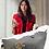 Thumbnail: H102, 100% Italian Leather Handbag (Grey)