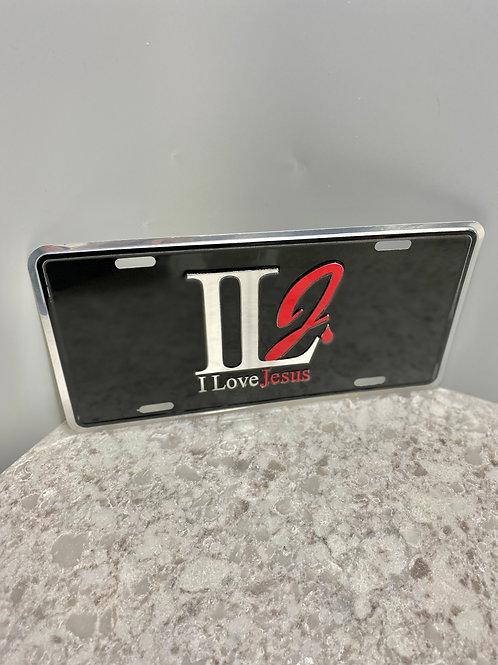 ILJ Metal License Plate