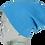Thumbnail: A105, ILJ Men's Slouch Beanie (Charcoal Grey)